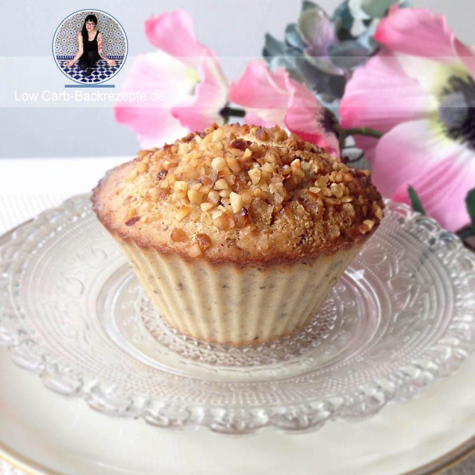 low carb krokant muffin. Black Bedroom Furniture Sets. Home Design Ideas