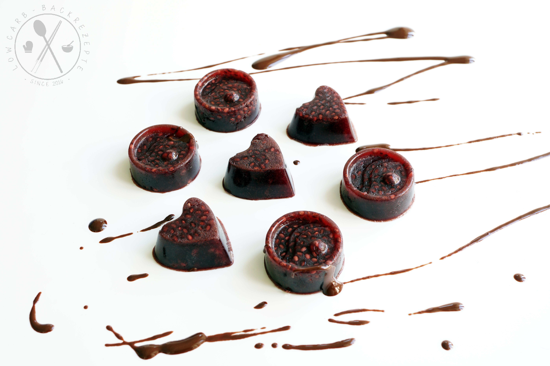 Low Carb Gummibarchen Chia Schoko Frucht Jellys Lowcarb