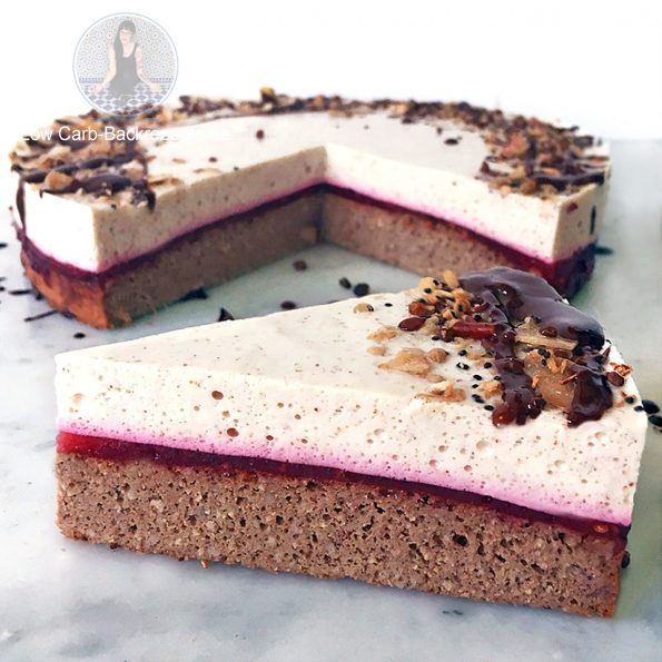 Low Carb Haselnuss Torte